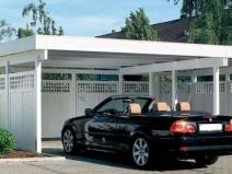 Капитальный навес для автомобиля: удобный вариант для дачи