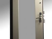отделка металлической двери панелями мдф