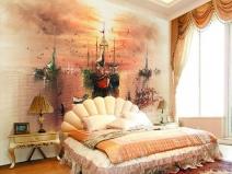 красивые обои для спальни с рисунком