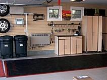 Очень удобный и практичный гараж