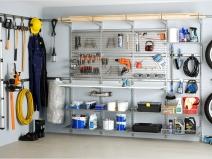 прекрасное планирование и порядок в гараже