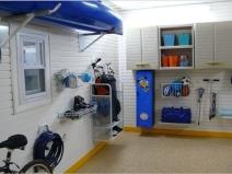 Порядок в гараже: удобно, практично и действительно аккуратно