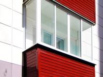 Балкон: холодное секление алюминиевым профилем