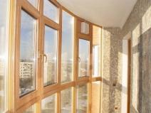 Дизайн застекления балкона фото