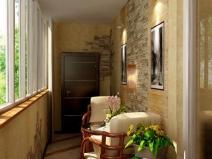 Дизайн балкона: внутренняяя отделка