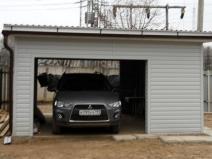 обшваем гараж снаружи