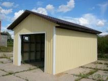 внешняя отделка гаража
