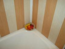 Очень простой дизайн ванной комнаты