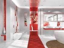 Украшение ванной пластиковыми панелями