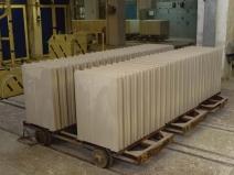 Производство пазогребневых блоков