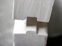 Стыковка пазогребневых плит