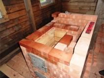 Строительство дачной печи