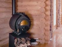 Классическая буржуйка на дровах