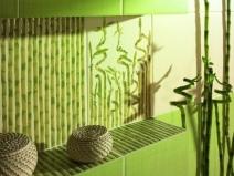 плитка под бамбук для стен в ванной