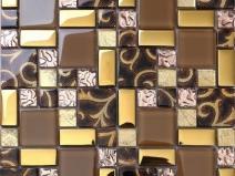 комбинированная оригинальная плитка для стен