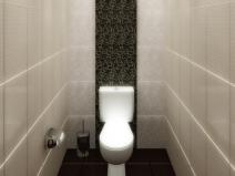 стильный дизайн плитки для туалета