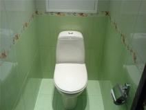светло зеленая плитка для туалета