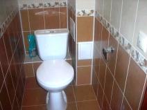 как красиво положить плитку в туалете