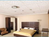 Дизайн помещения с потолочной плиткой из полистирола