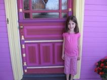 оригинальный вариант покраски дверей