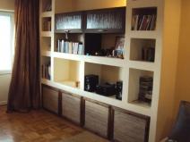 Книжный шкаф из гипсокартона
