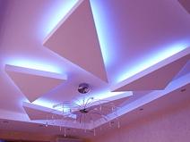 нтересная подсветка потолка