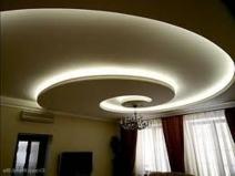 Оригинальный дизайн гипсокартонного потолка