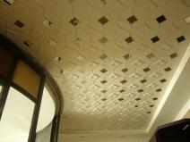 Интересный вариант дизайна потолка