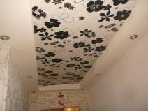 Потолки из гипсокартона фото прихожая