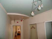 Потолки из гипсокартона фото коридор
