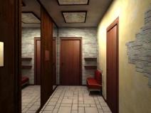Потолок в прихожей фото