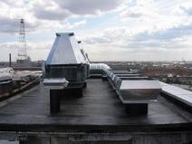 Приточно вытяжная вентиляция на крыше