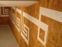 Пробковые панели для стен с геометрическим рисунком