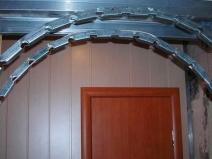 Профиль для строительства арки
