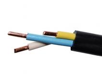 Трехжильный кабель для электропроводки