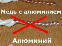 Правила выбора кабеля для проводки