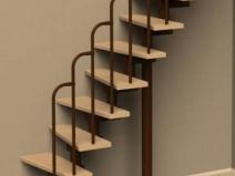 Простая и элегантная лестница