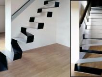 Конструкции лестниц на второй этаж