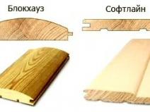 Типы деревянной вагонки