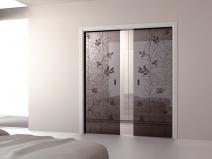 Раздвижные двери перегородки в квартире