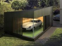 Современный модульный гараж
