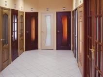 Образцы внутренних дверей