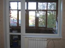 Классическая балконная дверь
