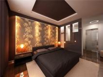 Оформление спальни в модернистском стиле