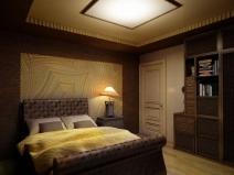 Дизайн спальни в духе старины