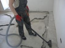 подготовка стяжки к ремонту