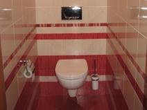 Фото туалета после ремонта, оформление плиткой
