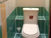 Интересное решение для туалета, оригинальный дизайн, удобная полка