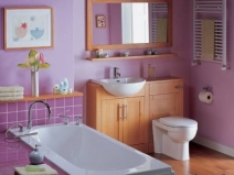 Интерьер ванной комнаты и туалета фотоИнтерьер ванной комнаты и туалета фото