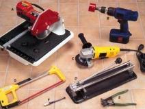 набор инструментов для резки плитки